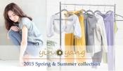 インヤン|Yin Yang のヨガウェア2015年春夏シーズン