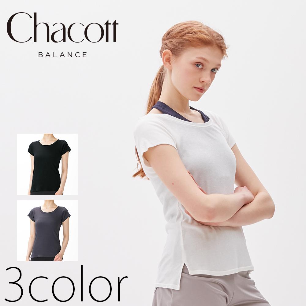 <br>【チャコット】半袖Tシャツ