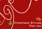 クリスマスはこんなスタイリングなんていかがでしょう?
