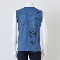 オーガニックノースリーブTシャツ- チベットエナジー