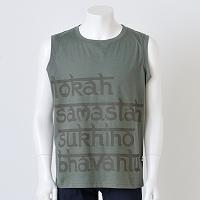 オーガニックノースリーブTシャツ- マントラ