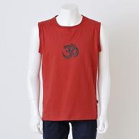 オーガニックノースリーブTシャツ-OM