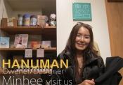 HANUMANのオーナーデザイナー、ミンヒーが来社!