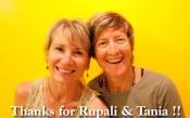 ルパリ&タニア先生ありがとう!そして懐かしむ自分。