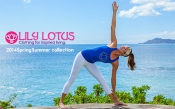 LILY LOTUS(リリー・ロータス)新作ヨガウェア2014春夏発売