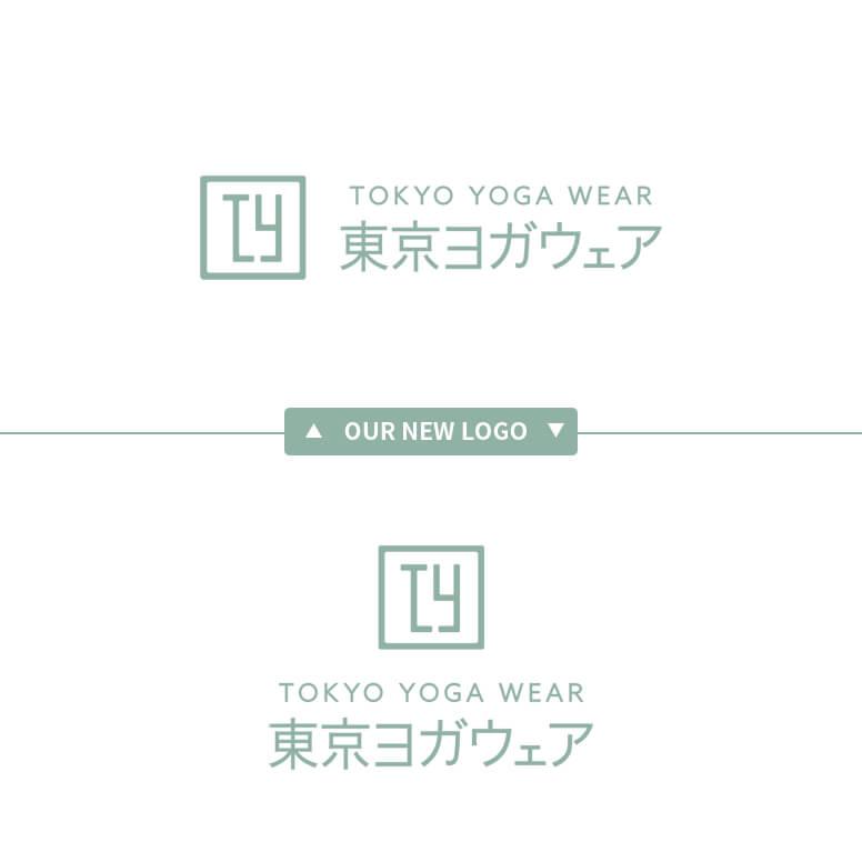 東京ヨガウェア-リニューアル新ロゴデザイン