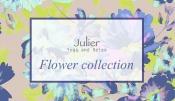 要注目→【ジュリエ】オリジナルフラワー柄のヨガウェア