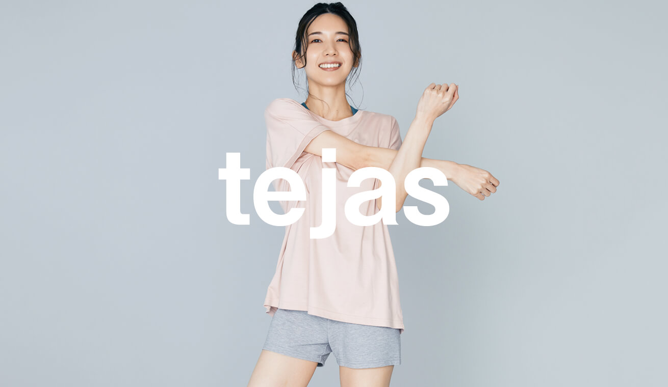 テジャス tejas 最新ヨガウェアコレクション