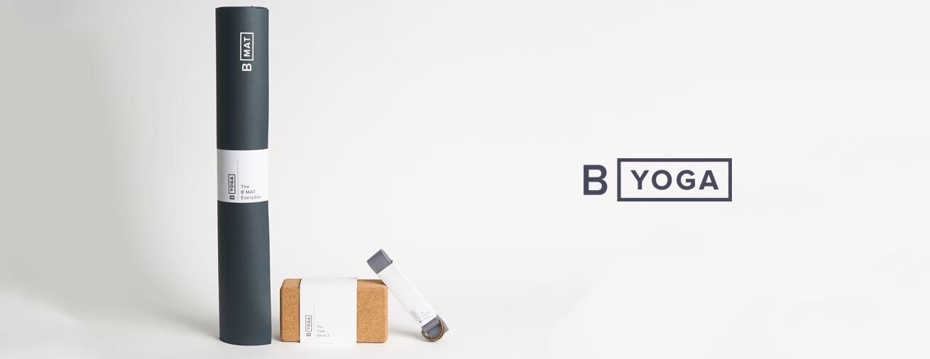 B YOGA | ビーヨガの滑らない天然ゴムのヨガマット