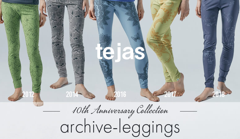 テジャス|10周年記念モデル|アーカイブレギンス