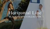 ホリゾンタルライン「ブラック&ホワイト」最新作まもなく発売!