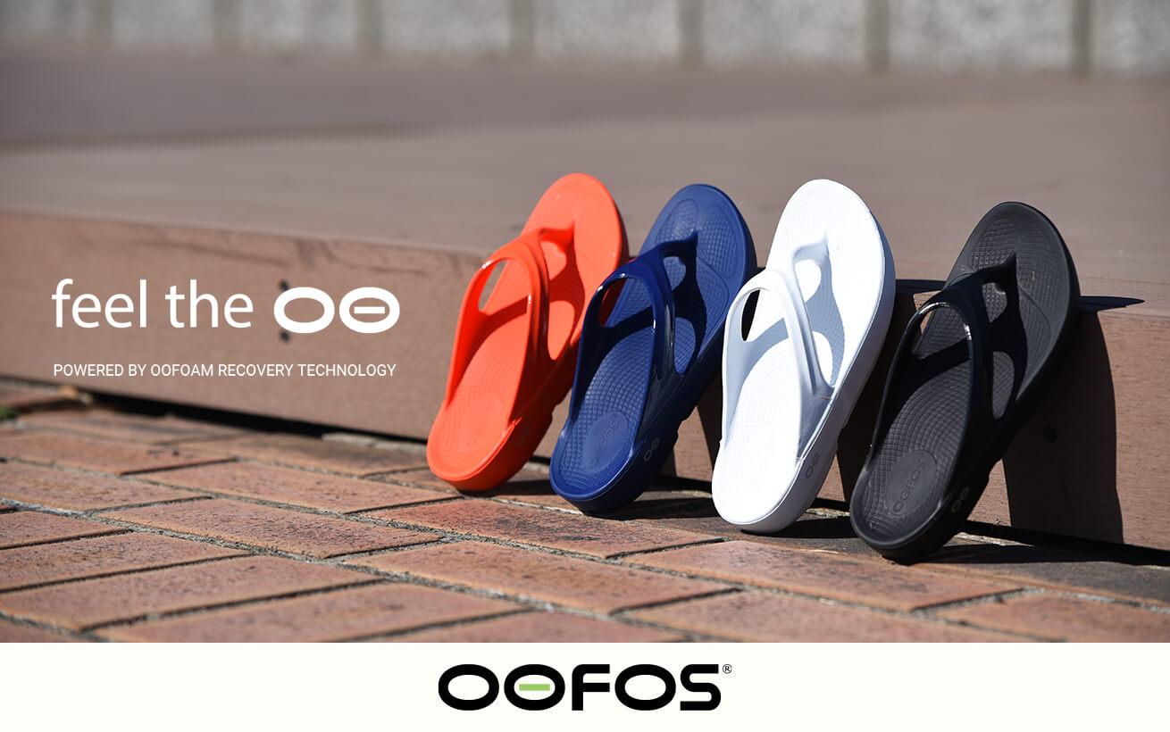 OOFOS|ウーフォス【リカバリーサンダルシューズのパイオニア上陸】