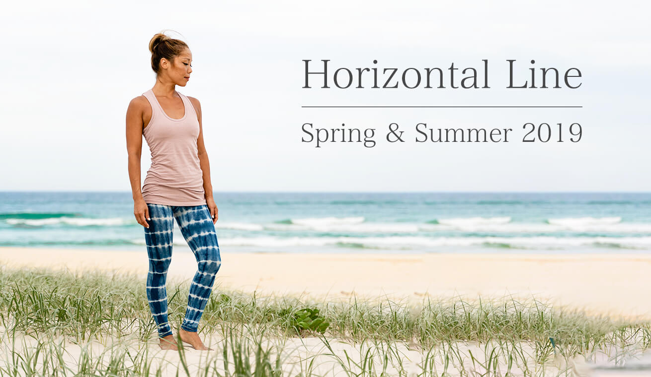 Horizontal Line ホリゾンタルライン 最新人気ヨガウェア