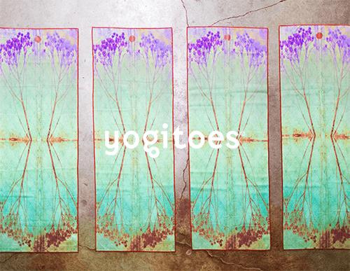マンドゥカのヨガマットにピッタリなヨギトースのスキッドレス ヨガタオル